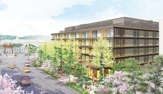 「ホテルメトロポリタン鎌倉」の外観イメージ