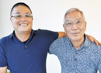 高橋正則院長(左)を信頼するHさん