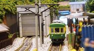 中高生の鉄道ジオラマ展示