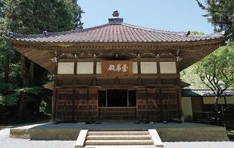 兀庵普寧が開山の一人となった浄智寺の本堂「曇華殿」