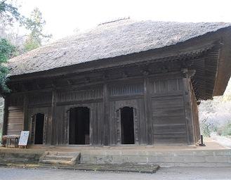 覚園寺の本堂 薬師堂