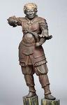 鎌倉国宝館の戌神像