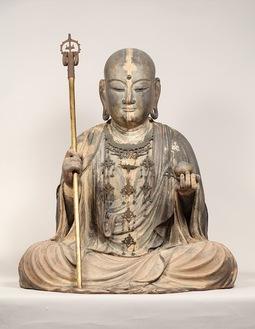 重要文化財・地蔵菩薩坐像(浄智寺蔵)