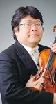 バイオリン独奏の森田昌弘さん