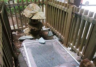 乗蓮寺の「尼将軍化粧の井戸」
