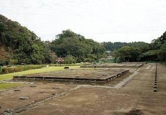 二階堂の永福寺跡