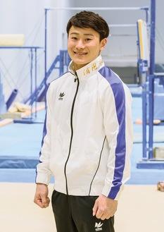 活躍が期待される北園選手(日本体操協会提供)