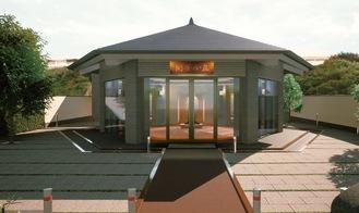 六角堂の完成のイメージ(日蓮宗提供)