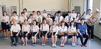 東関東大会へ進む七里ガ浜高吹奏楽部のメンバー
