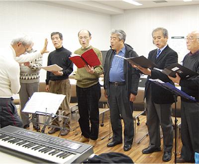 純正律を響かせる男声合唱団