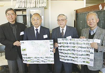 玉縄城の史跡、地図で紹介