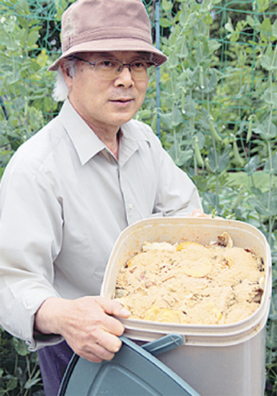 「家庭で良質な肥料を作ろう」