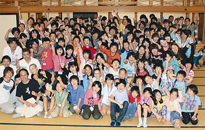 被災地の子ども20人招待
