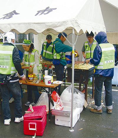 タコヤキで被災地支援
