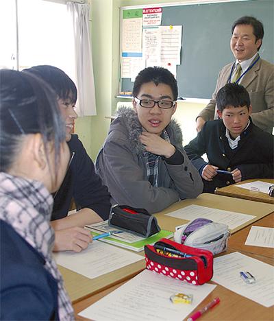 台湾の学生七高で交流会