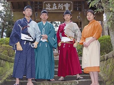鎌倉武士を体験