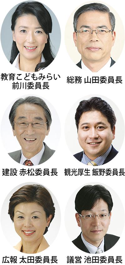 6委員会 所属決まる