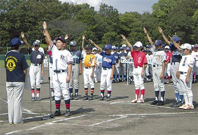 少年野球リーグ開幕