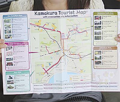 外国人向け観光マップ