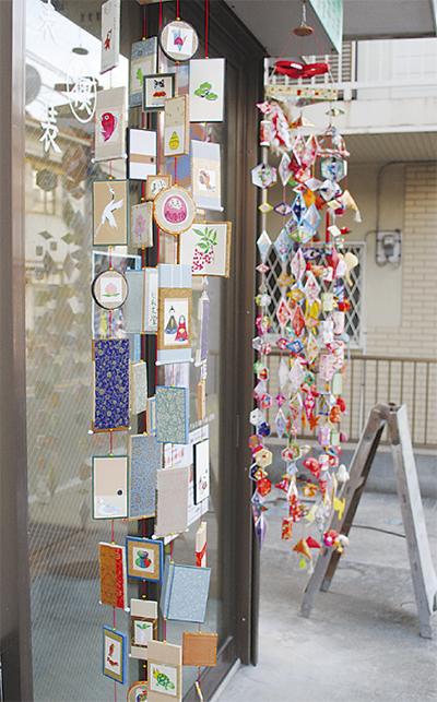 つるし飾りで彩る北鎌倉
