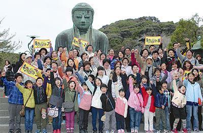 震災避難者が鎌倉で「再会」
