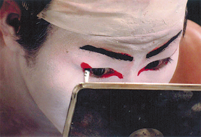 農村歌舞伎のドキュメント