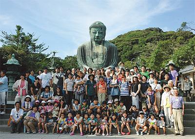 福島の20家族が鎌倉に