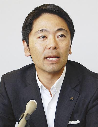 松尾氏が立候補を表明