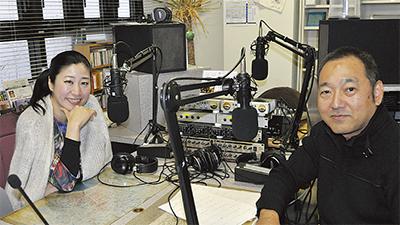 鎌倉FMの人気番組に出演