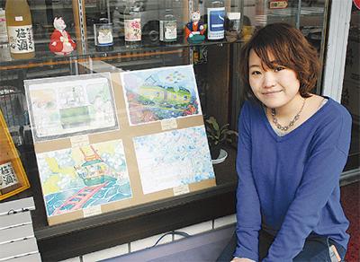 江ノ電沿線でアート展