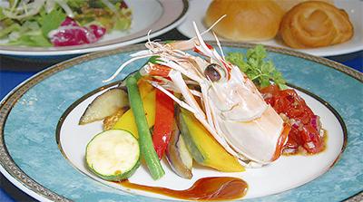 初夏の旬魚と夏野菜をたっぷり堪能