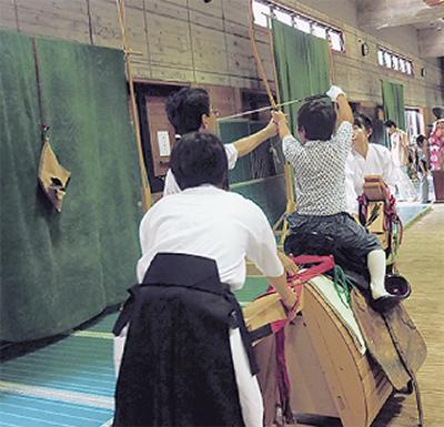 小笠原流の伝統を体験