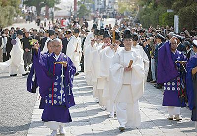 円覚寺で復興祈願