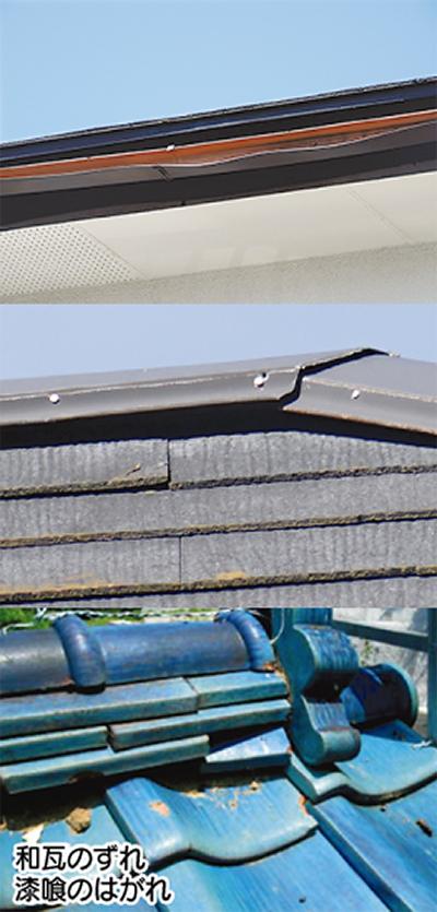 屋根、雨樋等の修理が無料