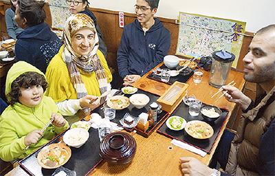 ムスリム観光客への「おもてなし」