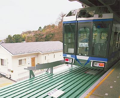 駅敷地内に初の保育施設
