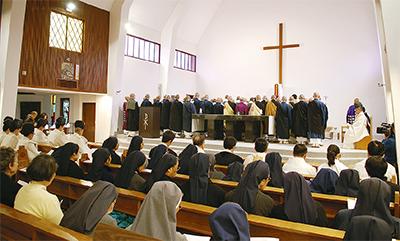 宗派超え復興祈願