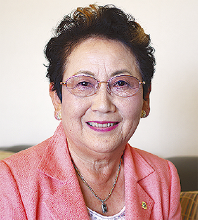 生山 昌子 会長