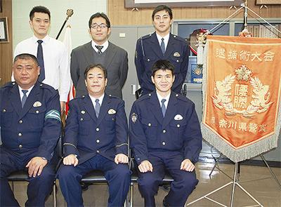 県逮捕術大会で優勝