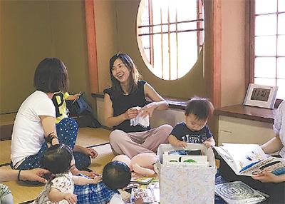 「のんびり楽しい子育て」応援スペース開設