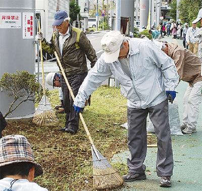 地域貢献の清掃活動