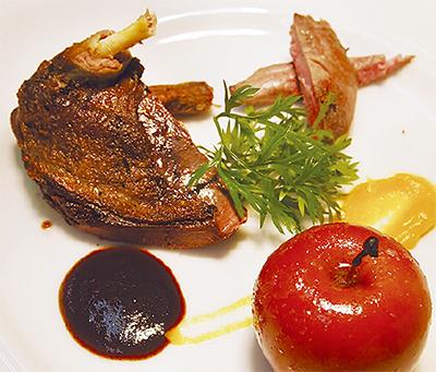 自然の恵み溢れるジビエ料理が人気
