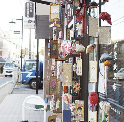 つるし飾りが彩る北鎌倉