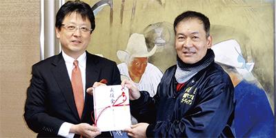 熊本市長に約9万円寄付