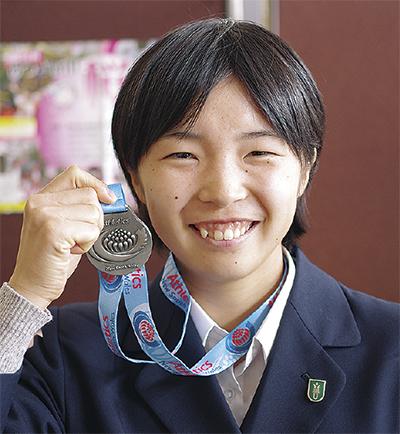 「競歩で東京五輪目指す」初の海外レースで銀メダル