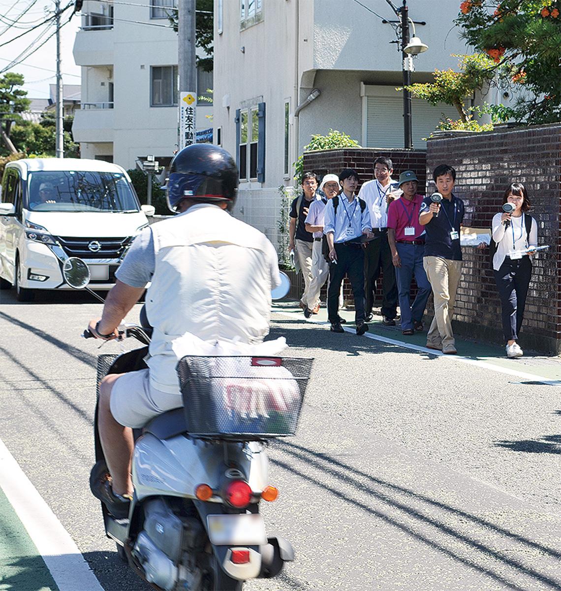 「安全に歩ける道路」整備へ