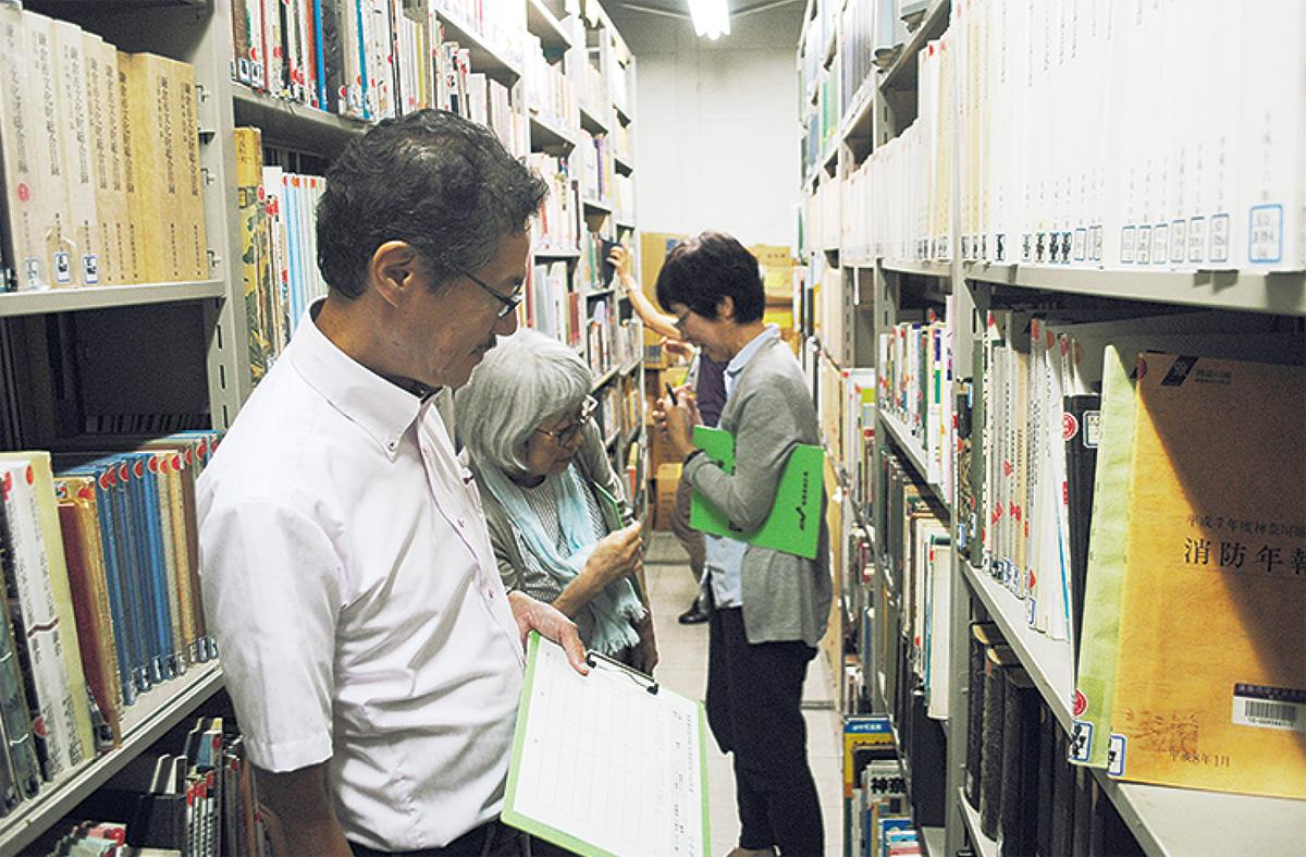 「松坡文庫」の調査進む