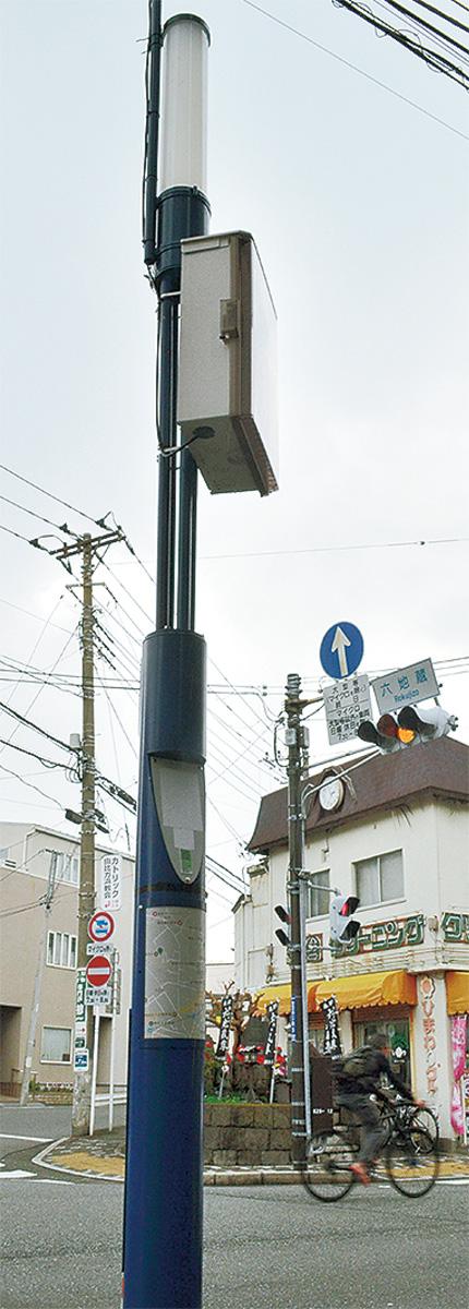 商店街がWi-Fi環境整備