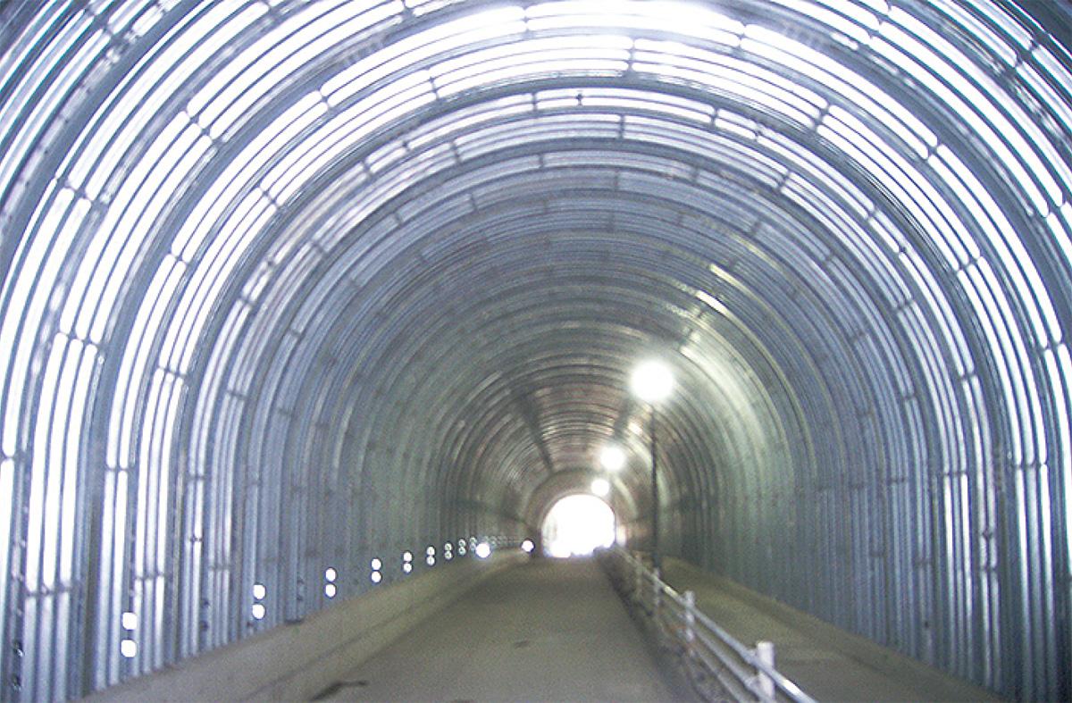 岩瀬隧道の通行再開
