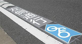 6パターンのデザインを左富士通りの計27カ所に設置